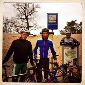 Bedankt mannen voor weer een heerlijk MTB-ritje: h...